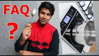 FAQ | Bina Aag Jalaye Khana ? | How Induction Cooker Works ? How We Cook In Village