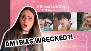 BTS (방탄소년단) A Brand New Day (feat. Zara Larsson) REACTION