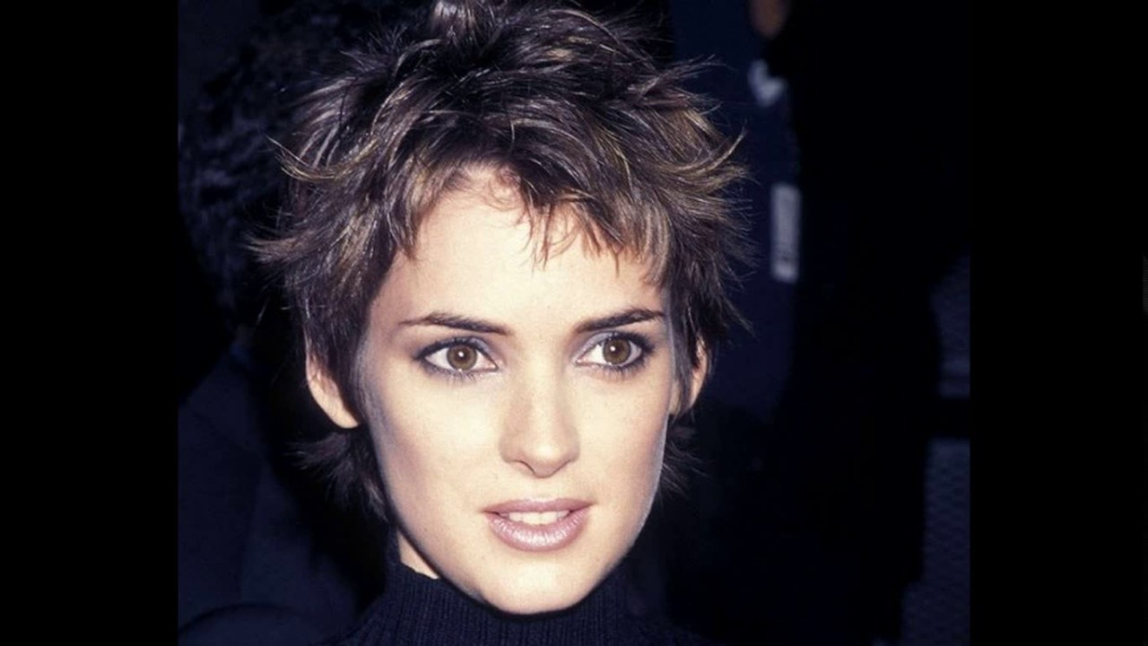 winona ryder short haircuts