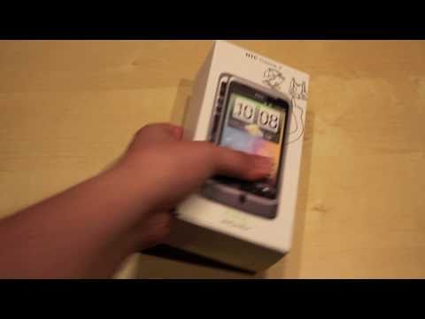 HTC Desire Z / T-Mobile G2 Unboxing - German