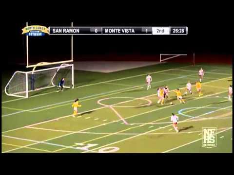 Morgan McGarry scores a goal for San Ramon Valley