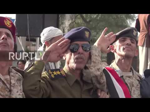Yemen: Protesters rally against US and Saudi-led coalition in Sanaa