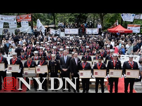 New York's Bravest Honored at FDNY Medal Day