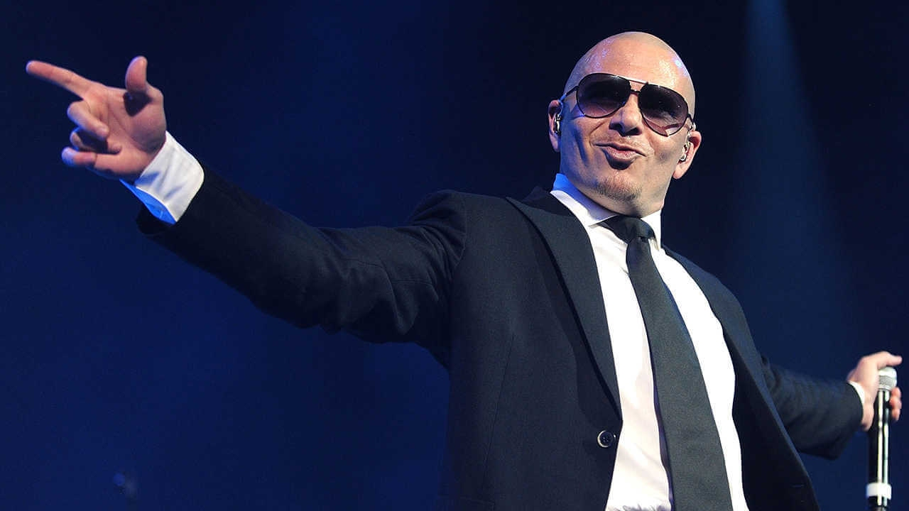 Every time Pitbull says Mr  Worldwide