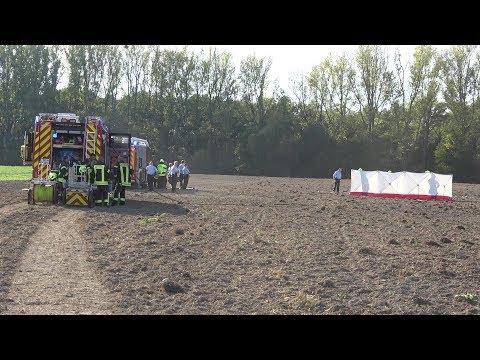 Flugzeugabsturz - 2 Tote in Sankt Augustin-Hangelar am 16.10.18 + O-Töne