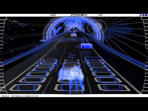 Skrillex - My name is Skrillex [v2.0] (audiosurf)