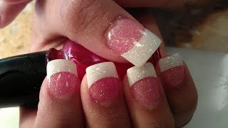 Gel Nails New Designing At Home 2018  💓💝