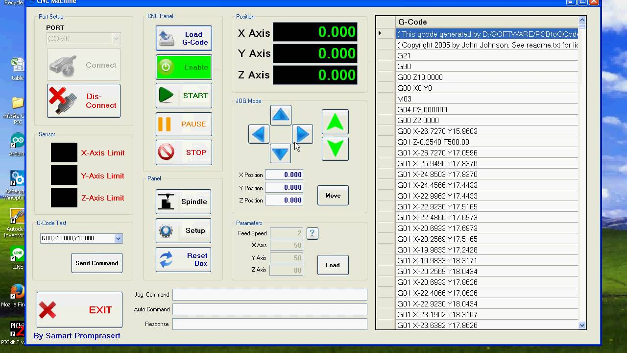 Mach3 cnc control software for windows 32 bit systems - Cnc Software Serial To Parallel Port