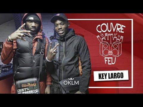 Youtube: KEY LARGO – Freestyle COUVRE FEU sur OKLM Radio