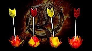 The Hunger Games: Catching Fire - Flaming Arrow Cake Pops From Cookies Cupcakes And Cardio