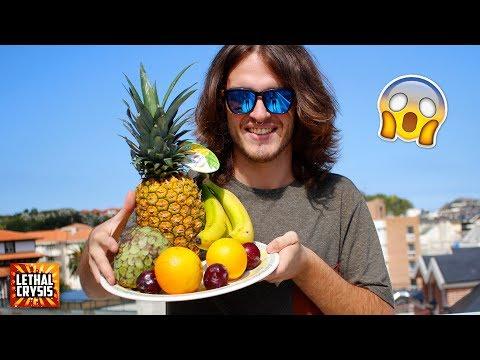 puedo vivir comiendo solo frutas y verduras