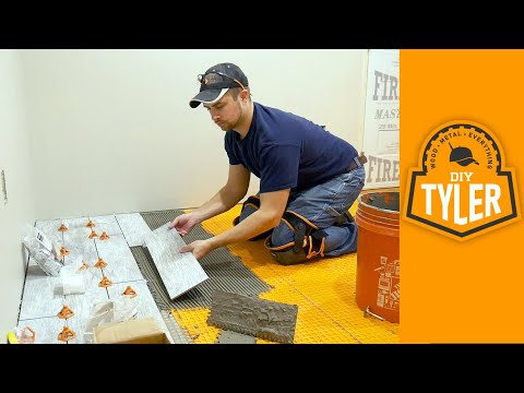 How to Install Wood Look Tile