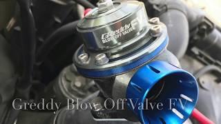 Greddy Blow Off   S15 Silvia Sound Check  ブローオフ