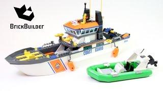 Kijk Lego City 60014 Kustwacht Patrouille filmpje