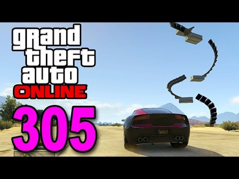 Grand Theft Auto 5 Multiplayer - Part 305 - Stairway to Heaven Ramp (GTA Online Gameplay)