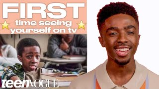 Caleb McLaughlin Shares His Firsts | Teen Vogue