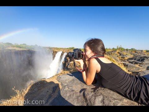 Canopy over victoria falls ,Zimbabwe. เล่นผาดโผนสุดตื่นเต้น ที่ซิมบับเว