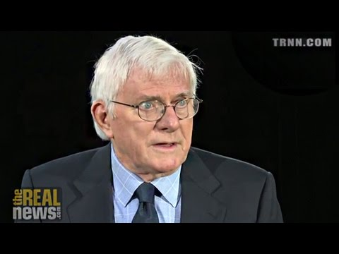 Phil Donahue on The Real News