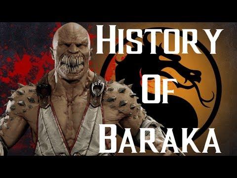 History Of Baraka Mortal Kombat 11 REMASTERED