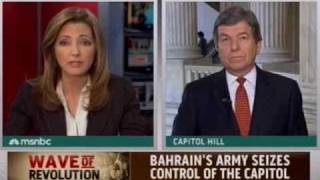 MSNBC: Senator Blunt on MSNBC with Chris Jansing 2/17/2011
