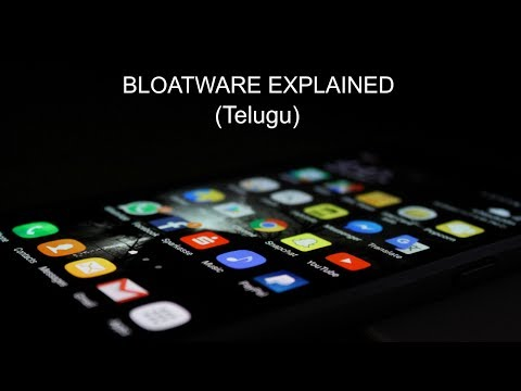(Telugu) Bloatware All You Need To Know