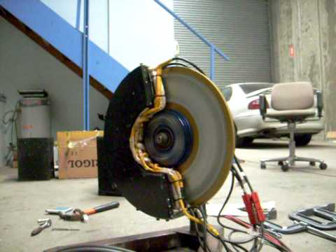 Electric Car In Wheel Motor Ac Induction