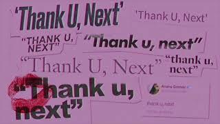 Ariana Grande - thank u, next [MP3 Free Download]