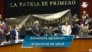 El secretario de Salud, Jorge Alcocer Varela resaltó que el objetivo del gobierno federal ha sido salvar vidas