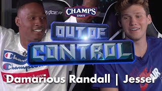 NFL Safety Damarious Randall Runs Jesser in Madden! | Out of Control - Episode 3