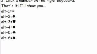 ☂How To Do Cool Symbols On Keyboard ♥
