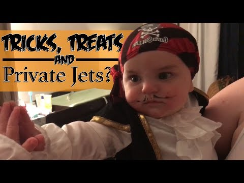 Tricks, Treats, and Private Jets: A Halloween To Remember!