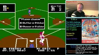 NES Challenge: Game#70: Bad News Baseball(part 1)
