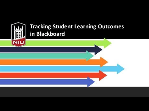 Tracking Student Learning Outcomes in Blackboard