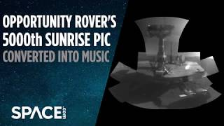 Opportunity Rover's 5000th Sunrise Pic Turned into Music thumbnail