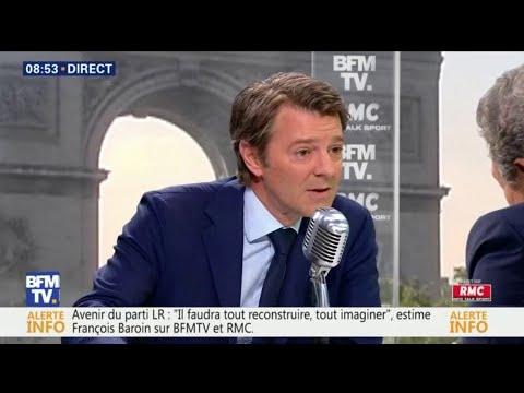 François Baroin ne votera pas la confiance au gouvernement
