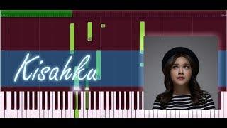 Brisia Jodie - Kisahku (Piano Tutorial)