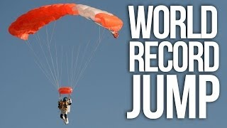 Google VP Shatters World Falling Record & Makes Sonic Boom With Body