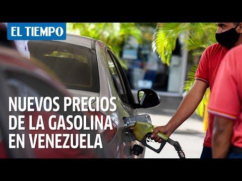 Nuevos precios de gasolina entran en vigencia en Venezuela