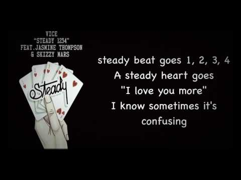 Vice  Steady 1234 ftJasmine Thompson & Skizzy Mars Lyrics