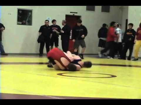 2010 Ontario Junior Championships: 66 kg Adam Argue vs. Calvin Waine