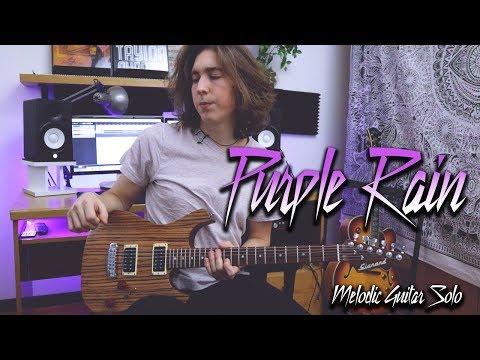 Purple Rain - Melodic Rock Guitar Solo (Prince)