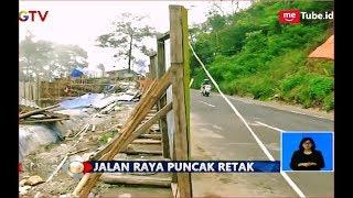 Mohon Hati-Hati! Jalur Puncak Bogor Retak Dilokasi Bekas Longsor - BIS 29/11