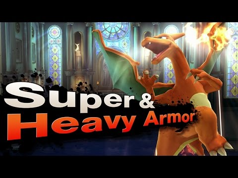 Smash 4 Wii U - Super & Heavy Armor