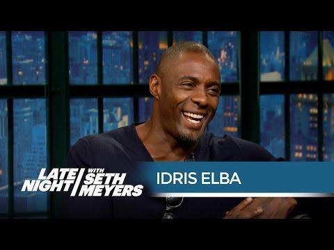 Seth's Mom Is an Idris Elba Superfan - Late Night with Seth Meyers