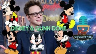 Disney & Gunn Officially Done. (What is Up With Society)