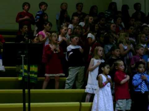 Johnson County Central Elementary School, Spring Concert 2009 Tecumseh Ne
