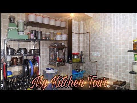 My Small Indian Kitchen Tour Small Indian Kitchen Organisation Idea My Indian Desi Kitchen