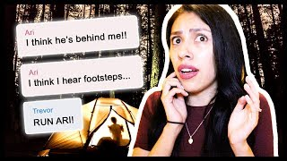 CRAZY EXBOYFRIEND! - The Haunted Camper: Creepy Text Story - Yarn App
