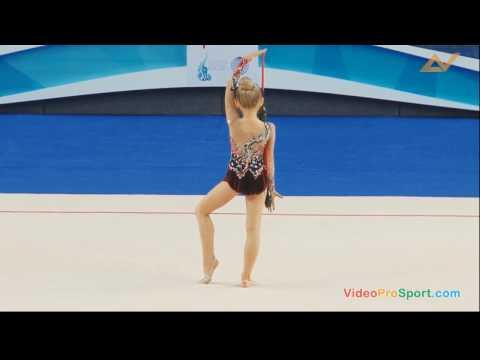 Корпунова Ульяна. Художественная гимнастика. Булавы.