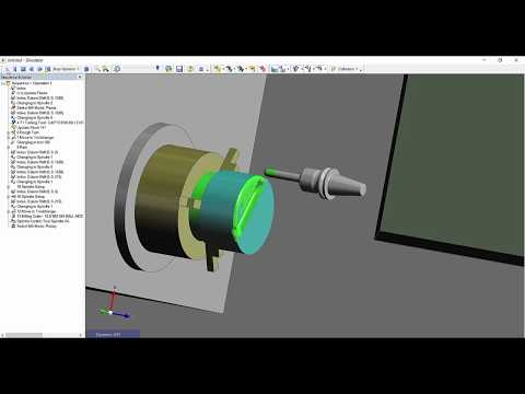 Rotary Mode Support | Edgecam 2018 R2